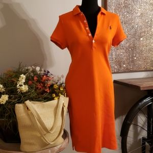 ‼️NWOT‼️🟠RALPH LAUREN SPORT🧡POLO DRESS🧡🟠